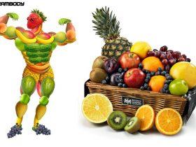 رابطه میوه ها و عضله سازی