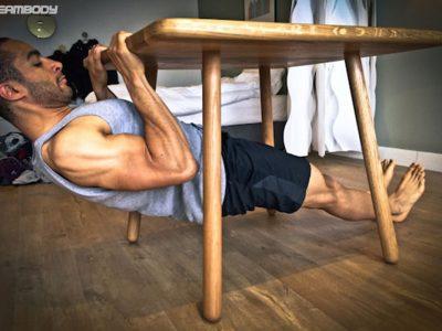 ورزش بدنسازی در خانه