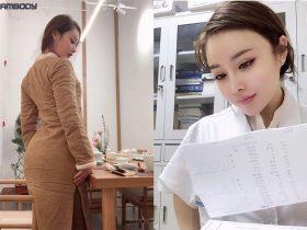 یوان هرونگ بدنساز چینی در خط مقدم مبارزه با ویروس کرونا