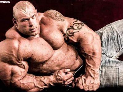 مورگان آسته هیولایی با وزن 168 کیلوگرم